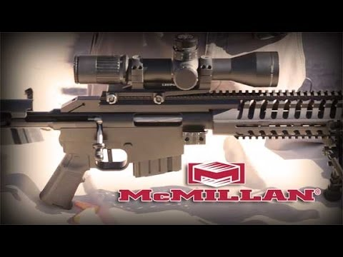 McMillan CS5 Suppressed Sniper Rifle