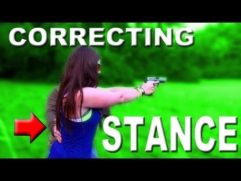 Shooting Stance - Sig 1911 Platinum Elite