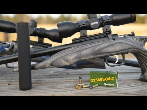 Suppressed Keystone Crickett Rifles