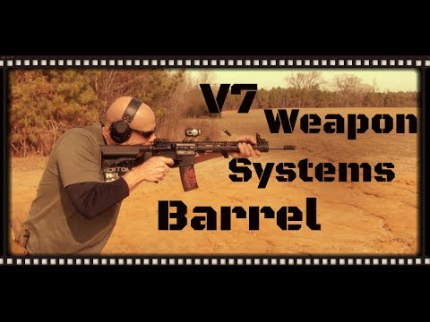V7 Weapon Systems AR-15 Barrel Test