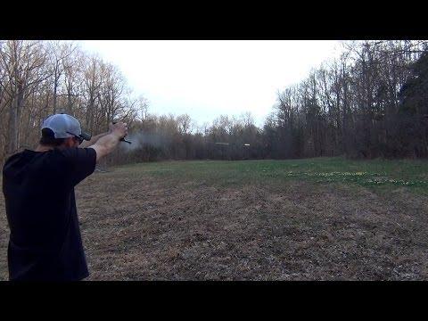 22LR Colt Woodsman Skeet Shooting