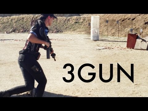 3 Gun Shooting with Jessica Hook