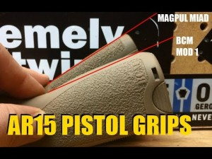 AR-15 Pistol Grips Reviewed