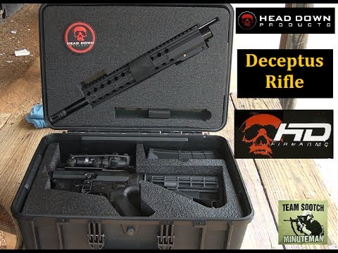 Head Down Deceptus Breakdown AR-15 Rifle Review