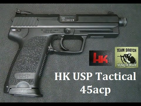 HK USP Tactical Pistol