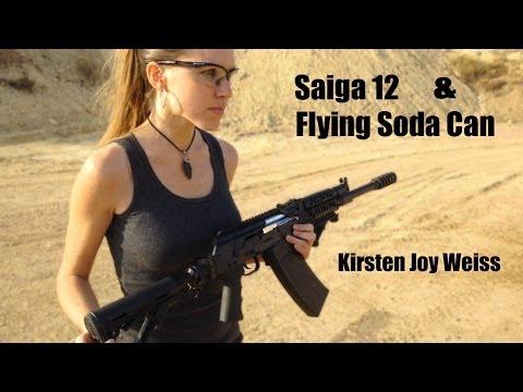 Kirsten Joy Weiss – Saiga 12 Shotgun
