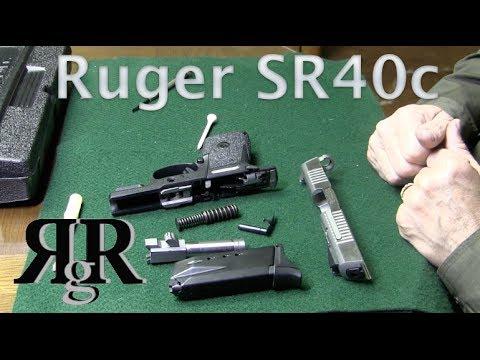 Ruger SR40c Field Strip