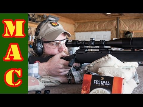 Savage Model 10 Riflescope Test