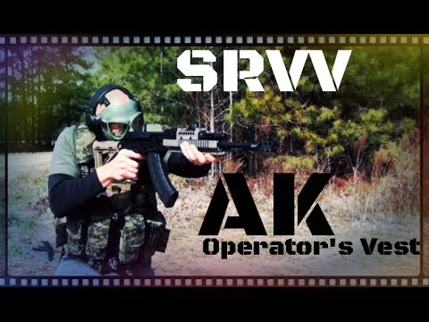 SRVV AK Operators Vest Chest Rig