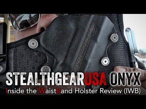 StealthGearUSA Onyx IWB Holster Review