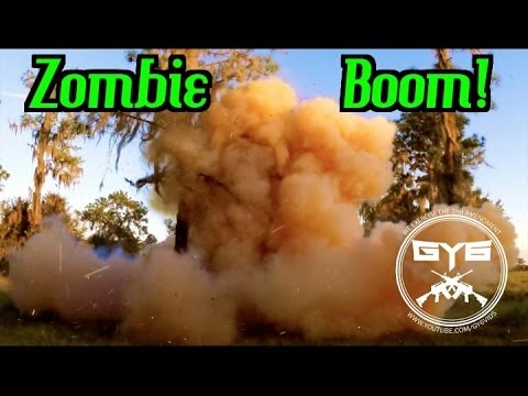 Zombie Target Explosion