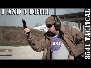 1 and 1 Handgun Drill