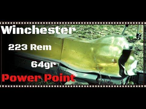 Ammo Test – Winchester Ranger 223 Power-Point