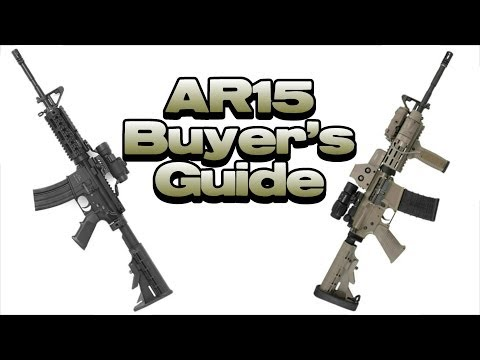 AR-15 Buyer's Guide - Rifle Buying Tips
