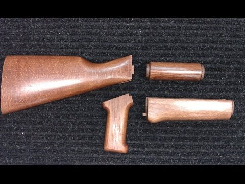GSG AK-47 Wood Stock Finish