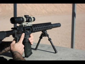 HK MR556A1 Rifle with OSS Suppressor