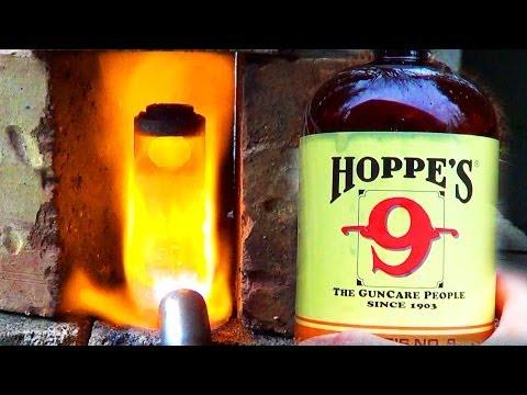 Hoppe's No 9 vs Red Hot Muzzle Brake