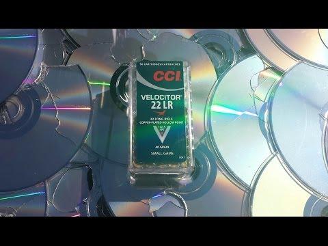 How Many CDs Will a 22LR Bullet Go Through