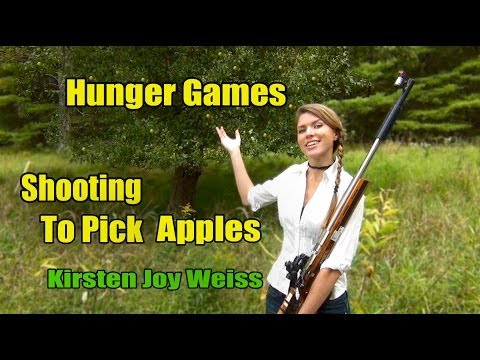 Kirsten Joy Weiss – Apple Picking Trick Shot