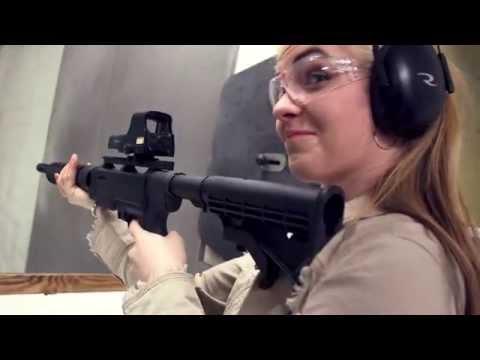Ruger SR-22 Rifle Range Demo