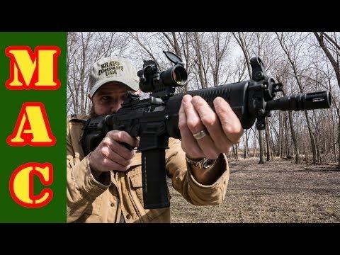 Sig P556 Pistol with SB15 Pistol Stabilizing Brace