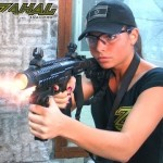 ZAHAL Tactical Girl Shooting Glock 17 with KPOS Pathfinder
