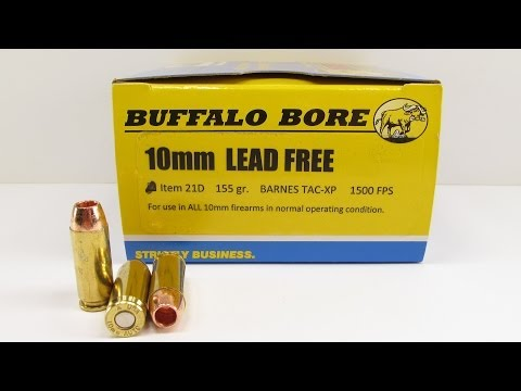 Ammo Test – Buffalo Bore 10mm Lead Free Ammo