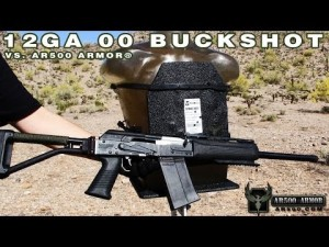 AR500 Armor Level III Body Armor vs 12 Gauge 00 Buckshot