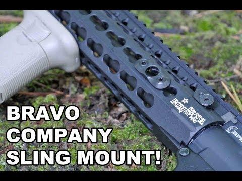 Bravo Company KeyMod Quick Detachable Sling Mount