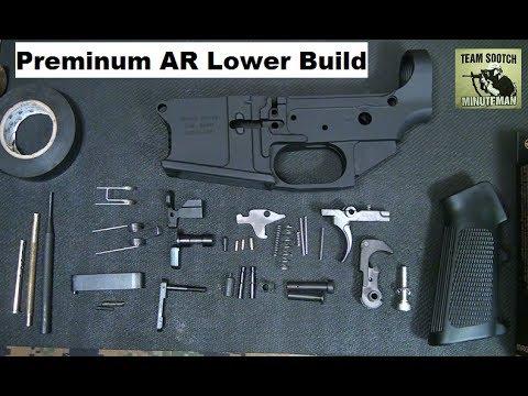 Coronado Arms CA-15 Custom Billet Lower