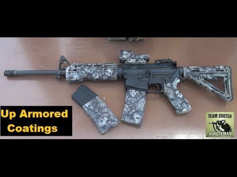 DuraCoat Skull Coated AR-15 Rifle