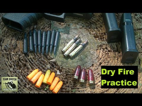Firearm Training – Dry Fire Practice
