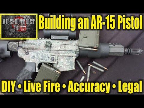 Serbu AR Pistol Build