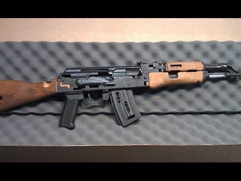 WASR 10 Cutaway Rifle
