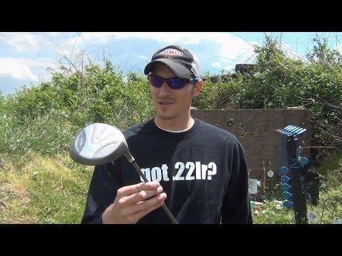 .22LR vs Titanium Golf Driver