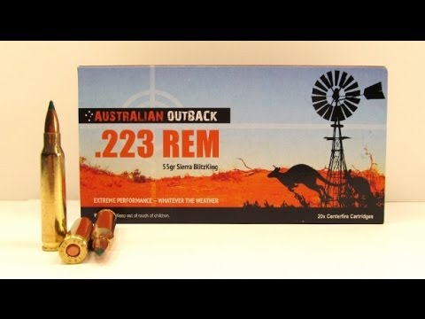 Australian Outback .223 Remington Ammo