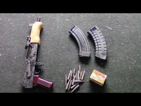 Century Arms Mini Draco AK Pistol Range Demo