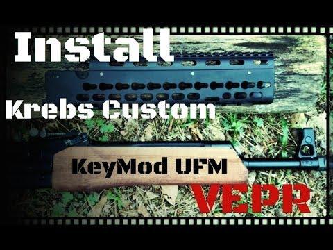 Krebs Custom UFM Keymod System for Vepr Rifles
