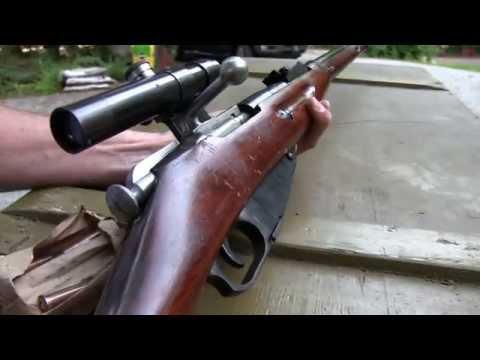 Mosin Nagant M91/30 PU Sniper Rifle