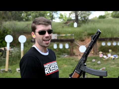 PPSH-41 Submachine Gun - Full Auto Demo