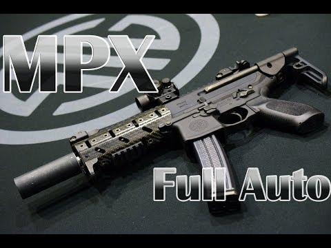 SIG MPX Machine Pistol