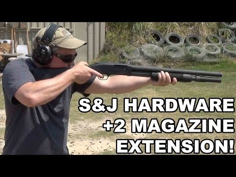 S&J Hardware Magazine Extension for Mossberg 590A1 Shotgun