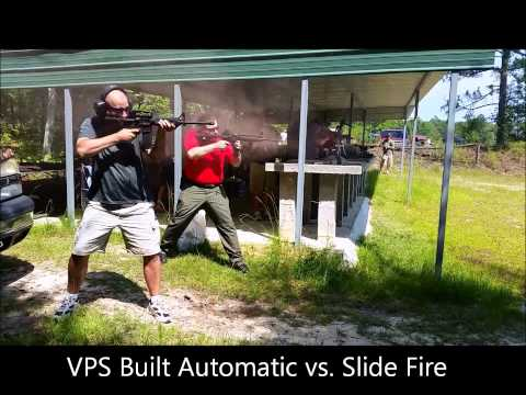 VPS Full Auto vs Slide Fire Equipped AR
