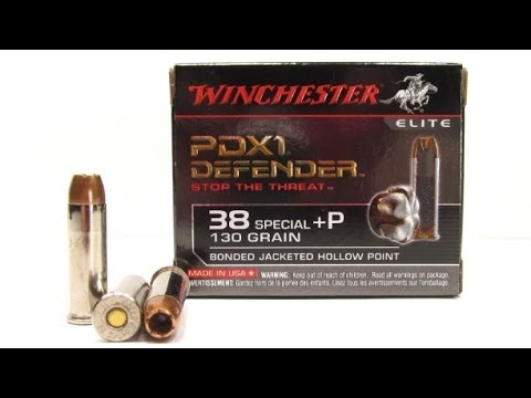 Winchester PDX1 38 Special +P