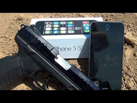 Ruger SR22 vs iPhone 5s