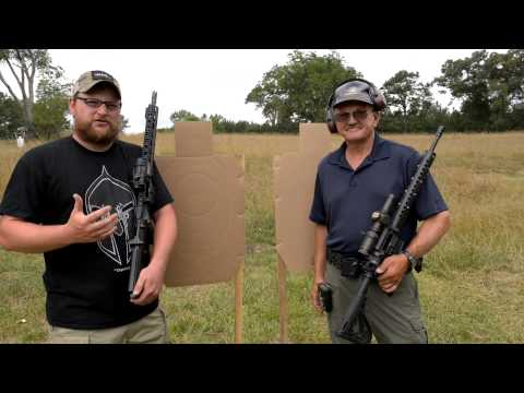 AR-15 Speed Shooting Showdown