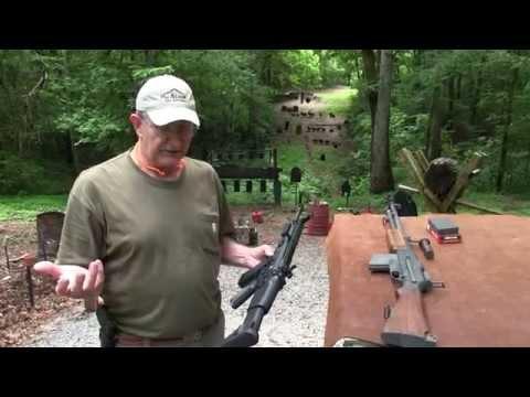 BAR M1918 vs FN SCAR 17