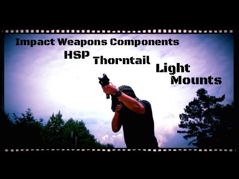 Impact Weapons Components Thorntail and KeyMod Light Mounts