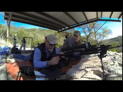 Ruger SR-762 Rifle Long-Range Precision Shooting