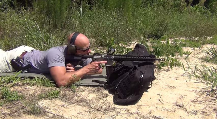 AR500 Armor Plate Body Armor Test